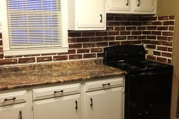 What a fresh coat of paint will do for these kitchen cabinets!!!