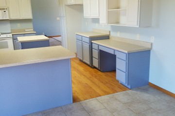 Cabinets are Completed