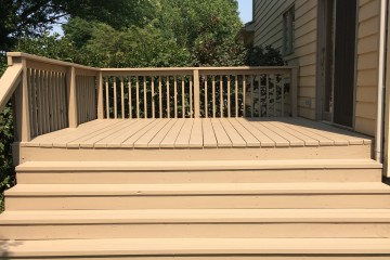 Completed project deck is ready for all those wonder family gatherings!!!