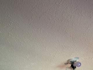 New Ceiling Textured HURRAY!!
