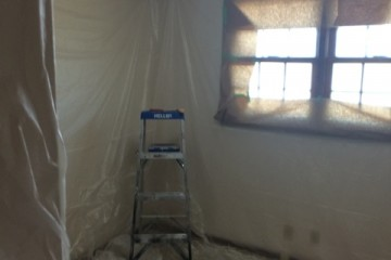 Getting ready to remove (popcorn ceiling)